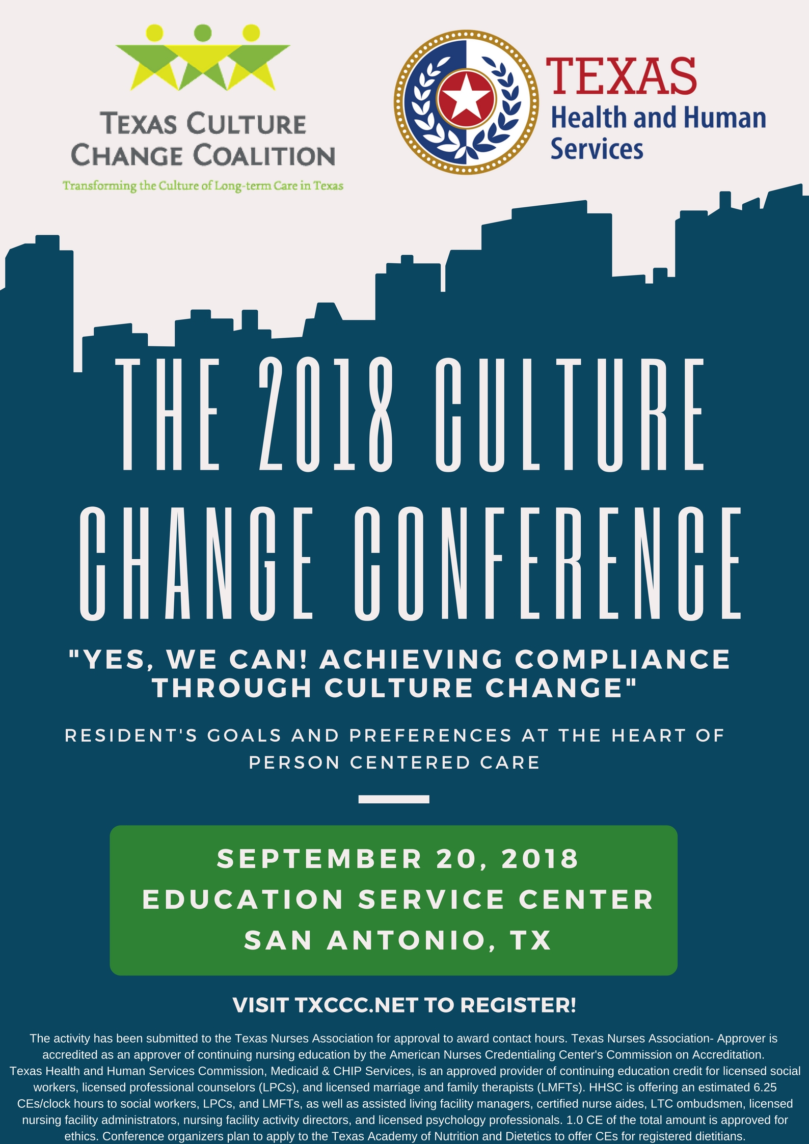 TXCCC Culture Change Conference